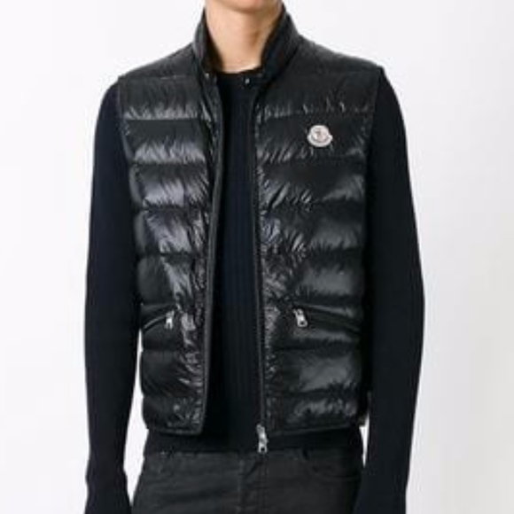 5730622fe Moncler GUI Vest Ultra Lightweight in Black